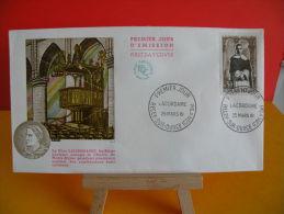 FDC - Lacordaire - Récey Sur Ource 25.3.1961 - 1er Jour - Cote 3,50 € - 1960-1969