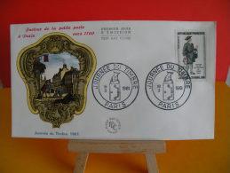 FDC - Journée Timbre - Paris 18.3.1961 - 1er Jour - Cote 5,20 € - 1960-1969