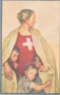 CARTE DE LA FETE NATIONALE-1917-N/C- (2e Choix) + Trou De Punaise - Interi Postali