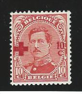 Belgie       OBP      153           *               Ongebruikt  /  Neuf Avec Charniere - 1918 Croce Rossa