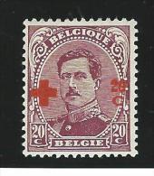 Belgie       OBP      155          *               Ongebruikt  /  Neuf Avec Charniere - 1918 Croce Rossa