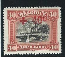 Belgie       OBP      158           *               Ongebruikt  /  Neuf Avec Charniere - 1918 Croce Rossa