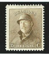 Belgie       OBP      172            *               Ongebruikt  /  Neuf Avec Charniere - 1919-1920  Re Con Casco