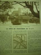 - Article De Presse - Régionalisme - Mantes - Cathédrale Et Pont - L'Ile Aux Dames - 1938 - 1 Pages - Historical Documents