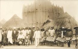 CPA PHOTO . SINEMATIALI . INTERIEUR DE LA VILLE - Côte-d'Ivoire