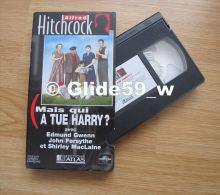 Alfred Hitchcock - Mais Qui A Tué Harry ? - K7 Vidéo VHS Couleur - Version Française (Ed. Atlas) - Occasion - Action, Aventure