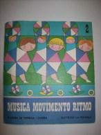 45 Giri MUSICA MOVIMENTO RIMO - DISCO 2 - Con Libretto - 1970 - Bambini
