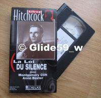 Alfred Hitchcock - La Loi Du Silence - K7 Vidéo VHS Noir & Blanc - Version Française (Ed. Atlas) - Occasion - Action, Aventure
