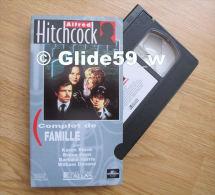 Alfred Hitchcock - Complot De Famille - K7 Vidéo VHS Couleur - Version Française (Ed. Atlas) - Occasion - Action, Aventure