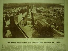 - Article De Presse - Régionalisme - Aigues Mortes - La Sainte Baume - Var  - 1934 - 2 Pages - Historische Dokumente
