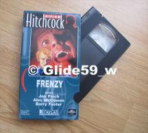 Alfred Hitchcock - Frenzy - K7 Vidéo VHS Couleur - Version Française (Ed. Atlas) - Occasion - Action, Aventure