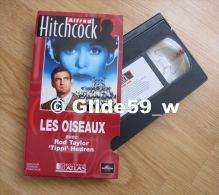 Alfred Hitchcock - Les Oiseaux - K7 Vidéo VHS Couleur - Version Française (Ed. Atlas) - Occasion - Action, Aventure