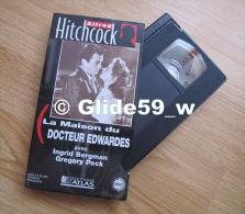 Alfred Hitchcock - La Maison Du Docteur Edwardes - K7 Vidéo VHS Noir & Blanc - Version Française (Ed. Atlas) - Occas - Action, Aventure