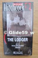 Alfred Hitchcock - The Lodger - K7 Vidéo VHS Noir & Blanc - Muet (Ed. Atlas) - Neuve - Action, Aventure