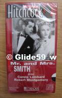 Alfred Hitchcock - Mr. And Mrs. Smith - K7 Vidéo VHS Noir & Blanc - Version Française (Ed. Atlas) - Neuve - Action, Aventure