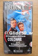 Alfred Hitchcock - Cinquième Colonne - K7 Vidéo VHS Noir & Blanc - Version Française (Ed. Atlas) - Neuve - Action, Aventure