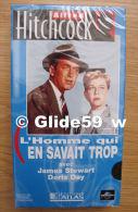 Alfred Hitchcock - L'homme Qui En Savait Trop - K7 Vidéo VHS Couleur - Version Française (Ed. Atlas) - Neuve - Action, Aventure