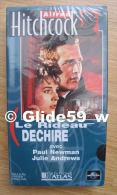 Alfred Hitchcock - Le Rideau Déchiré - K7 Vidéo VHS Couleur - Version Française (Ed. Atlas) - Neuve - Action, Aventure