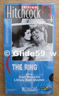 Alfred Hitchcock - The Ring - K7 Vidéo VHS Noir & Blanc - Muet (Ed. Atlas) - Neuve - Action, Aventure