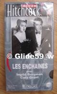 Alfred Hitchcock - Les Enchaînés - K7 Vidéo VHS Noir & Blanc - Version Française (Ed. Atlas) - Neuve - Action, Aventure