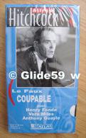 Alfred Hitchcock - Le Faux Coupable - K7 Vidéo VHS Noir & Blanc - Version Française (Ed. Atlas) - Neuve - Action, Aventure