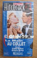 Alfred Hitchcock - La Main Au Collet - K7 Vidéo VHS Couleur - Version Française (Ed. Atlas) - Neuve - Action, Aventure