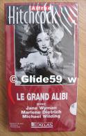 Alfred Hitchcock - Le Grand Alibi - K7 Vidéo VHS Noir & Blanc - Version Française (Ed. Atlas) - Neuve - Action, Aventure