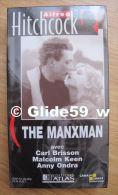 Alfred Hitchcock - The Manxman - K7 Vidéo VHS Noir & Blanc - Muet (Ed. Atlas) - Neuve - Action, Aventure