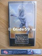 The Rolling Stones Bridges To Babylon - Live In Concert - K7 Vidéo VHS - ERV 609-8 - Sony Music - Neuve - Concert Et Musique