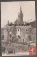 59----CAMBRAI----La Porte De Paris Et La Cathedrale-- - Cambrai