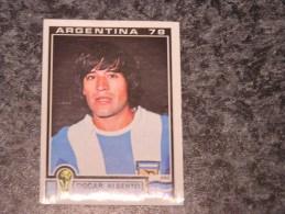 Argentine OSCAR ALBERTO ORTIZ  World Cup Story Argentina 78 PANINI Original Sticker N° 109  Vignette Autocollante - Panini