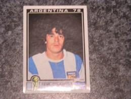 Argentine RENE ORLANDO HOUSEMAN  World Cup Story Argentina 78 PANINI Original Sticker N° 108  Vignette Autocollante - Panini