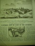 - Article De Presse - Régionalisme - Laon - Cathédrale - Porte D' Ardon - Chapelle  - 1936 - 7 Pages - Documents Historiques
