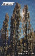 ANDORRA(chip) - Auba, Tirage 20000, 10/99, Used - Andorra