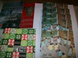Cofanetto Con 5 Dischi EDUCAZIONE AL RITMO - La Scuola Editrice - Anni ´70 - Bambini