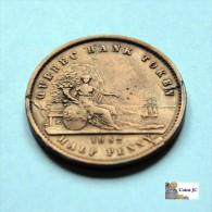 Canada- 1 Sou - 1852 - Canada