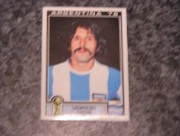 Argentine LEOPOLDO LUQUE World Cup Story Argentina 78 PANINI Original Sticker N° 106  Vignette Autocollante - Edition Française