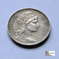 Colombia - 1 Peso - 1912 - Colombia