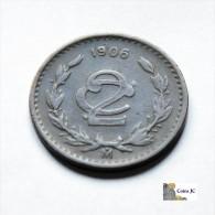 México - 2 Centavos - 1906 - Mexico