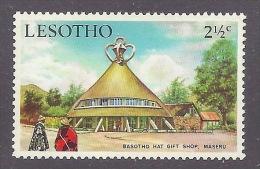 Lesotho - Basotho Hat Gift Shop, Maseru, Typical Building, Tourism, Tourisme MNH - Lesotho (1966-...)