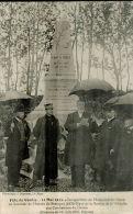 CPA  CONLIE      La Fête Le 11 Mai  Avec L' Inauguration Du Monument ,discours De Mr GALPIN ,député - Conlie