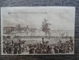 Le Premier Train De Chemin De Fer En Belgique Le 5 Mai 1835 - Treinen