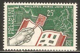 French Polynesia 1964 Mi# 32 ** MNH - Philatec Issue - Frans-Polynesië