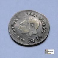 Haití - 25 Cents - 1817 - Haiti