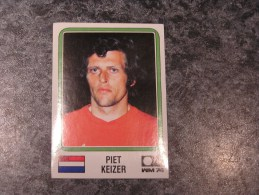 Hollande PIET KEIZER World Cup Story 1974 Germany 74 PANINI Original Sticker N° 91 Vignette Autocollante - Edition Française