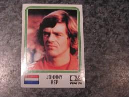 Hollande JOHNNY REP World Cup Story 1974 Germany 74 PANINI Original Sticker N° 88 Vignette Autocollante - Panini