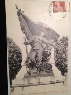 CPA 14 CAEN MONUMENT AUX ENFANTS DU CALVADOS - Caen