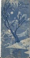Carte De Voeux/Arbre Enneigé Sous La Lune /circulée//Vers 1930  CVE80 - New Year