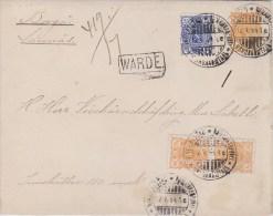 Finland; Money (Wärde) Postal Cover 1894 - Finlande
