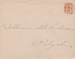 Finland; Postal Cover 1892 - Ganzsachen
